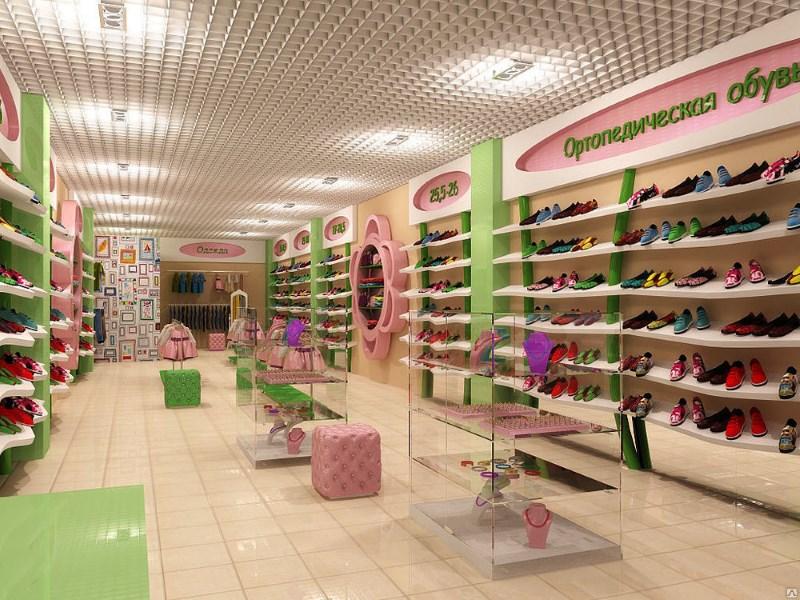 Красивый дизайн и отделка магазина