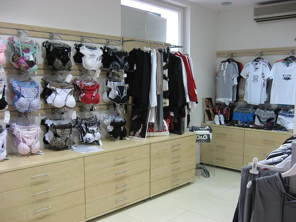 Мебель для магазина белья